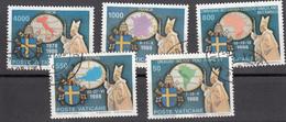 Vaticano - 1989 - I Viaggi Del Papa Nel Mondo - Vatican