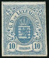 * N°6 10c Bleu-clair, ND Voisin En Haut - TB - Lussemburgo