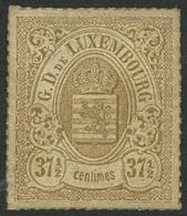 (*) N°22  371/2 Bistre-olive - B - Lussemburgo
