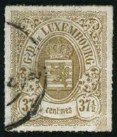 Oblit. N°22 371/2c Bistre-olive - TB - Lussemburgo