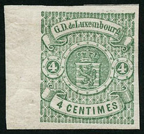 * N°36A 4c Vert - TB - Lussemburgo