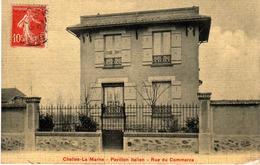 SEINE ET MARNE-Chelles-La Marne-Pavillon Italien-Rue Du Commerce - - Chelles