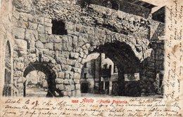 Italie : Aosta  Porta Pretoria - Aosta