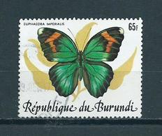 1984 Burundi Papillon,vlinder,schmetterlinge Used/gebruikt/oblitere - 1980-89: Afgestempeld