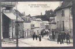 Carte Postale 23. Guéret Rue Des Chers Très Beau Plan - Guéret