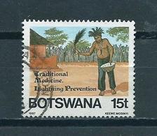 1987 Botswana Medicine Used/gebruikt/oblitere - Botswana (1966-...)