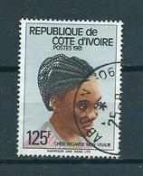 1981 Ivoorkust Hair Used/gebruikt/oblitere - Ivoorkust (1960-...)