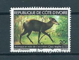 1979 Ivoorkust Animals,dieren,tiere Used/gebruikt/oblitere - Ivoorkust (1960-...)