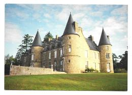 61 ORNE...Environs De Putanges. GIEL COURTEILLES: Château De Crevecoeur...Illustrateur Jean Clérembaux - Autres Communes