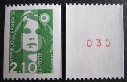 R1624/393 - 1990 - TYPE MARIANNE DU BICENTENAIRE - N°2627 à 2627a (N*ROUGE) TIMBRES NEUFS** - France