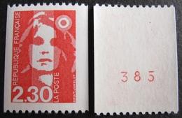 R1624/394 - 1990 - TYPE MARIANNE DU BICENTENAIRE - N°2628 à 2628a (N*ROUGE) TIMBRES NEUFS** - France