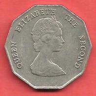 1 Dollar , Etats Des CARAIBES De L'Est  , Cupro-Nickel , 1999 , N° KM # 11 - Caribe Oriental (Estados Del)