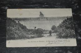 4954   LES ENVIRONS DE VERVIERS, LE BARRAGE DE LA GILEPPE - 1904 - Jalhay