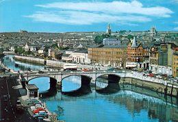 1 AK Irland Ireland * Blick Auf Cork City - Drittgrößte Stadt In Irland - Luftbildaufnahme * - Cork