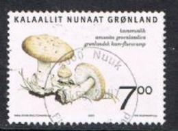 Greenland SG468 2005 Fungi 7k Good/fine Used [13/13834/6D] - Greenland