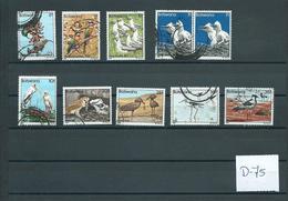 1982 Botswana Birds,oiseaux,vögel Used/gebruikt/oblitere(D-75) - Postzegels