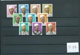 1973 Sierra Leone Siaka Stevens Used/gebruikt/oblitere(D-77) - Timbres