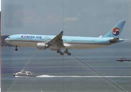 Airbus A320-323 COREAN AIR HL7710  Airlines A 320 Avion Air Aviation A320 Airplane A-320 Luft At Hong Hong - 1946-....: Era Moderna