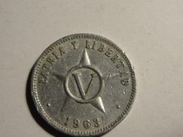 5 CENTAVOS 1963. - Cuba