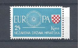 Europa CEPT 1960 Croatie Timbre Du Gouvernement En Exil Neuf Luxe ** - 1960
