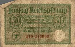 Billet Fünfzig Reichspfenning 50 - [ 4] 1933-1945: Derde Rijk