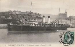 Paquebots : ONWARD : Le Nouveau Steamer ( Boulogne-sur-mer - Pas De Calais ) - Piroscafi