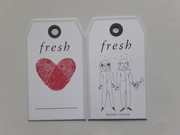 """FRESH  ~~~étiquette Hong Kong  """"  R/V!! - Perfume Cards"""