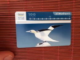 Landis & Gyr Iceland Bird Phonecard 511 L (MInt,Neuve) Rare - Iceland