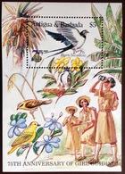 Antigua 1985 Girl Guides Birds Minisheet MNH - Ohne Zuordnung
