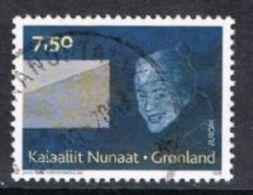 Greenland SG546 2008 Europa 7k.50 Good/fine Used [13/13836/6D] - Greenland