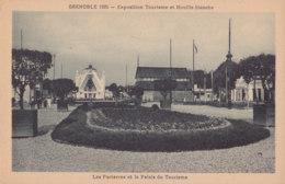 Grenoble (38) - Exposition 1925 - Les Parterres Et Le Palais Du Tourisme - Grenoble