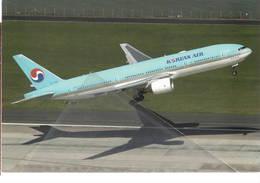 Boeing 777-2B5  HL7526 Korean Air Airlines B 777 Avion Aviation B777 At Auckland - 1946-....: Era Moderna