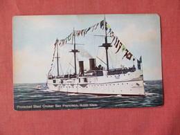 Protected Steel Cruiser San Francisco    Ref 3154 - Oorlog