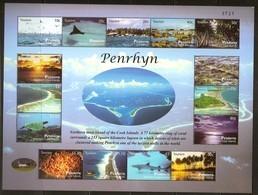 Penrhyn 2011 Yvertn° Bloc 96 *** MNH Cote 25,00 Euro Tourisme Vues Faune Et Flore - Penrhyn