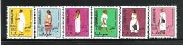 SOMALIA - 1975 - 6 VALORI NUOVI STL. - COSTUMI NAZIONALI - IN OTTIME CONDIZIONI. - Somalia (1960-...)