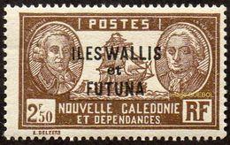 Wallis Et Futuna N°   86 ** Bougainville Et La_Perousse - Neufs