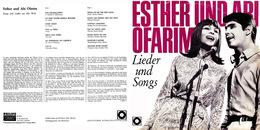 Superlimited Edition CD Esther&Abi Ofarim. LIEDER UND SONGS. - Country & Folk