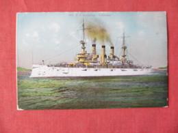 US Battleship Louisiana   Ref 3154 - Oorlog