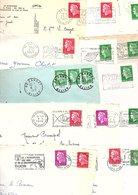 FRANCE MARCOPHILIE MARIANNE DE CHEFFER UN CARTON DE 2,950 KGS - Lots & Kiloware (mixtures) - Min. 1000 Stamps