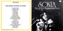 Superlimited Edition CD Sonia. DIE GROSSE STIMME AUS PERU. - Country & Folk