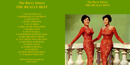 Superlimited Edition CD The Barry Sisters. THE REALLY BEST - Country & Folk