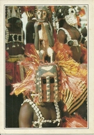 "Mali (Africa) Chez Les ""Dogons"", Masque De Ceremonie, Masques De Bois, Maschere Da Cerimonia - Mali"