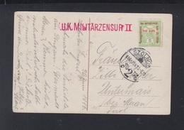 Hungary PPC Szolnok 1916 Censor - Hungary