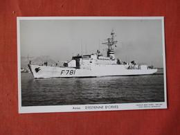 Aviso D'Estienne D'Orves   Ref 3155 - Oorlog
