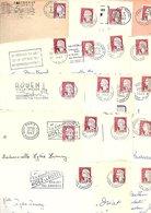 FRANCE MARCOPHILIE MARIANNE DE DECARIS LOT DE LETTRES DE 2.800 GRAMMES - Lots & Kiloware (mixtures) - Min. 1000 Stamps