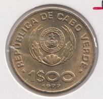 @Y@    Kaapverdische Eilanden    1 Escudo 1977   UNC     (3591) - Cabo Verde