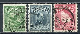 Bolivien Nr.178/80       O  Used       (295) - Bolivien