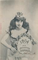 CPA - Thèmes - Fantaisie - 1904 Mes Meilleurs Souhaits - Fantaisies