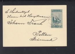 Bosnien Herzegowina GSK Ilidza Nach Pettau - 1850-1918 Empire