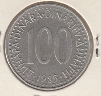 @Y@    Jugoslavie   100  Dinar  1985    (4693) - Jugoslawien